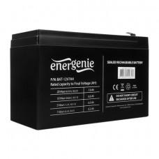Аккумуляторная батарея для ИБП любых торговых марок, 12 В, 7 Ач, 151x65x95 мм, ENERGENIE, BAT-12V7AH