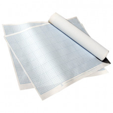 Бумага масштабно-координатная, 400х600 мм, голубая, Лилия Холдинг, ПМБ