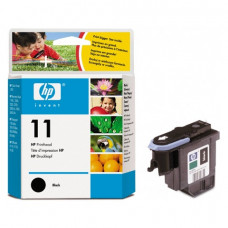 Головка печатающая для плоттера HP (C4810A) Designjet 510/CC800PS/ 800/500 и др., №11, черная