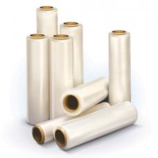 Стрейч-пленка для ручной упаковки, 50 см х 170 м, 17 мкм, 1,3 кг - нетто, ПЕРВИЧНОЕ СЫРЬЕ, растяжение 300%