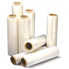 Стрейч-пленка для ручной упаковки, 50 см х 230 м, 15 мкм, 1,6 кг - нетто, ПЕРВИЧНОЕ СЫРЬЕ, растяжение 300%