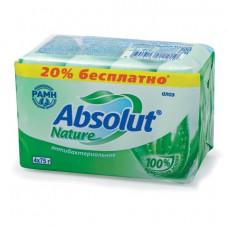 Мыло туалетное 300 г, ABSOLUT (Абсолют), комплект 4 шт. х 75 г,