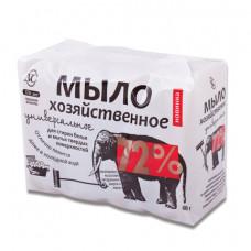 Мыло хозяйственное 72% КОМПЛЕКТ 4 шт. х 100 г (Невская Косметика), в упаковке, 11142