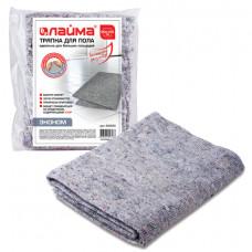 Тряпка для мытья пола 80х100 см, плотность 180 г/м2, ХПП, 80% хлопок, 20% полиэфир,