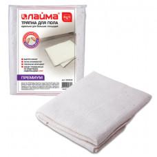 Тряпка для мытья пола 60х75 см, плотность 200 г/м2, 50% вискоза, 40% хлопок, 10% полиэстер,
