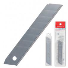 Лезвия для ножей 18 мм КОМПЛЕКТ 10 ШТ., толщина лезвия 0,5 мм, в пластиковом пенале, ERICH KRAUSE, 19274