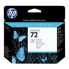 Головка печатающая для плоттера HP (C9380A) Designjet T610/795/1100 и др., №72, серая и черная фото, оригинальная
