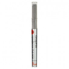 Грифели для карандаша цангового 2 мм, BRUNO VISCONTI Graphix, КОМПЛЕКТ 5 штук, HB, 21-0043