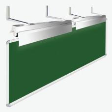 Светильники для школьной доски, комплект 2 шт., с кронштейнами и крепежом, ЛК078 1х36-04(Ш