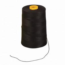 Нить лавсановая для прошивки документов, ЧЕРНАЯ, диаметр 1 мм, длина 1000 м, ЛШ 210ч, BRAUBERG, 603771