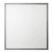 Панель светодиодная потолочная ЭРА, 595x595x8, 40 Вт, 4000 K, 2800 Лм, БЕЗ БЛОКА ПИТАНИЯ, серебро, Б0026959