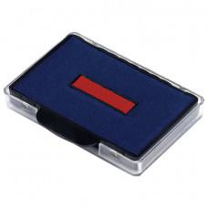 Подушка сменная (56х33 мм) ДЛЯ TRODAT 5460, 5465, сине-красная, 72809