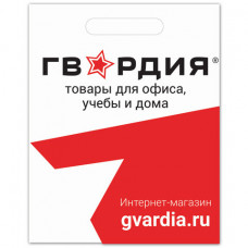 Пакет презентационно-упаковочный ГВАРДИЯ, 40х50 см, усиленная ручка, 503224