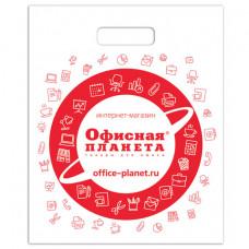 Пакет презентационно-упаковочный ОФИСНАЯ ПЛАНЕТА, 40х50 см, усиленная ручка, 500362