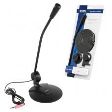Микрофон настольный SVEN MK-200, кабель 1,8 м, 60 дБ, черный, SV-0430200
