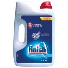 Порошок для мытья посуды в посудомоечных машинах 2,5 кг FINISH (Финиш), 3011485