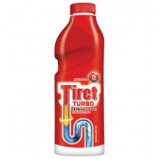 Средство для прочистки канализационных труб 1 л, TIRET (Тирет)