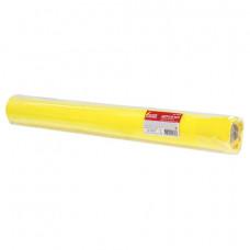 Цветной фетр для творчества в рулоне 500х700 мм, BRAUBERG/ОСТРОВ СОКРОВИЩ, толщина 2 мм, желтый, 660629