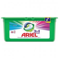 Средство для стирки в капсулах 30 шт. по 27 г ARIEL (Ариэль) Color, 1001920