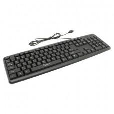 Клавиатура проводная GEMBIRD KB-8320U-BL, USB, 104 клавиши, черная