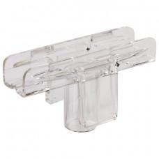 Держатель рамки POS, Т-образный, для сборки напольной стойки, для трубок диаметром 9 мм, 290265