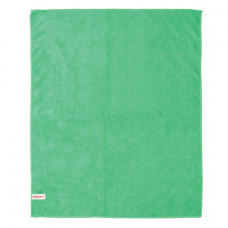 Тряпка для мытья пола, плотная микрофибра, 70х80 см, зелёная, ЛАЙМА, 603931